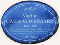 CAILLAUD-SIMARD, Marthe