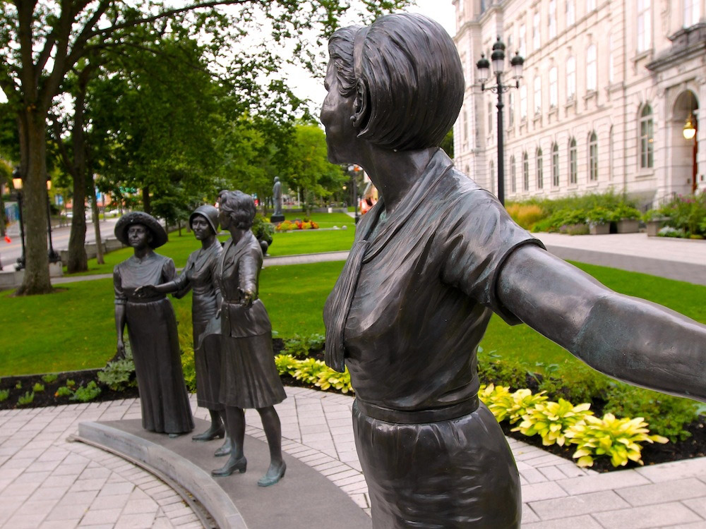 Monument to the suffragettes
