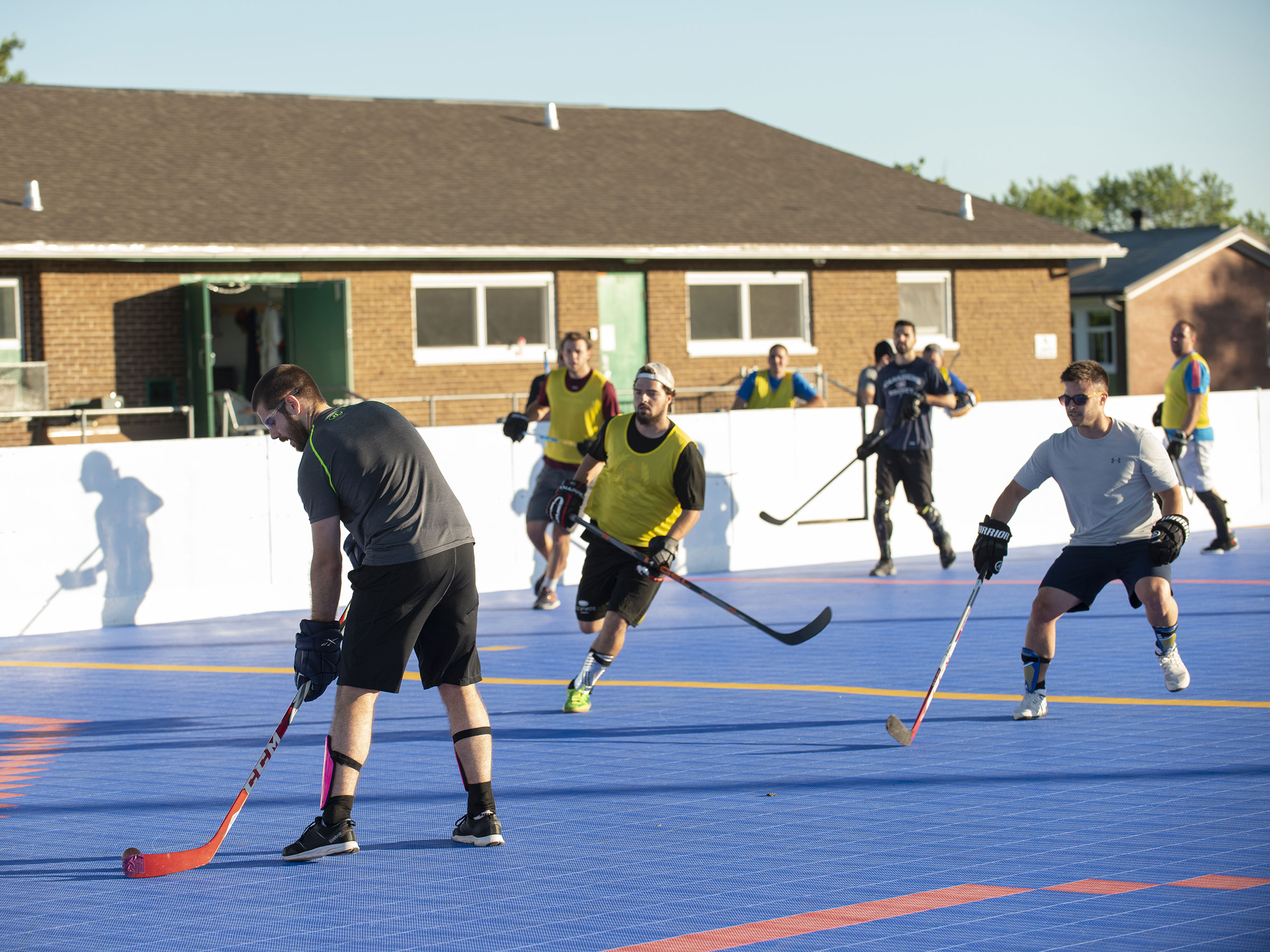 Surface de Dek hockey