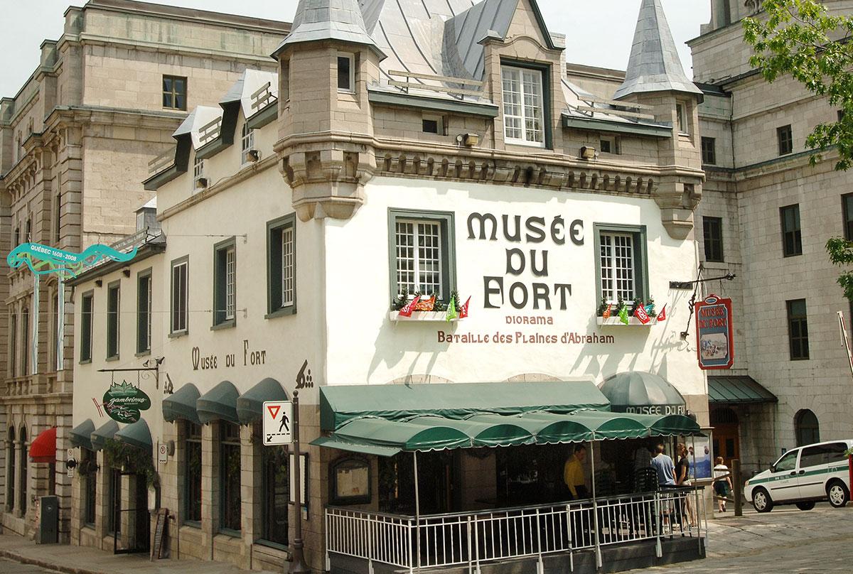 Unique En Son Genre Le Muse Du Fort Constitue Un Bon Point De Dpart Pour Toute Visite Guide La Ville Sa Reconstitution Et Lumire Des Plus