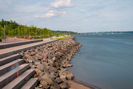 Promenade Samuel-De Champlain.